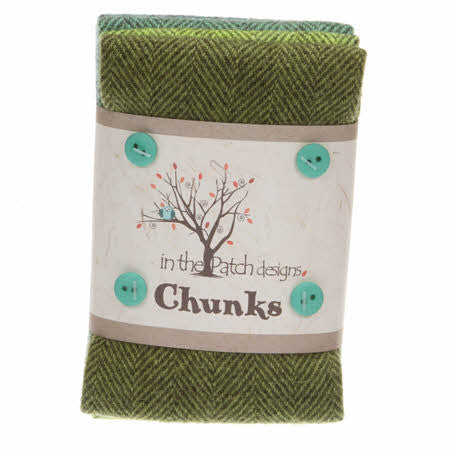Irish Wool Chunks