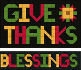 Give Thanks, Blessings
