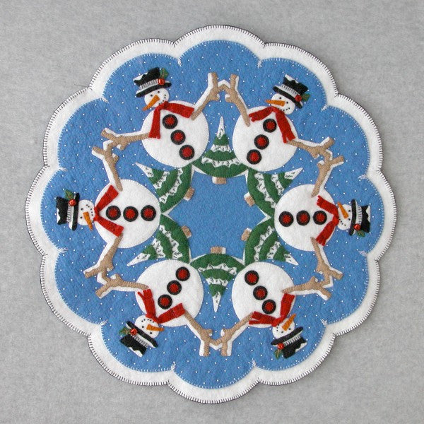 Snowmen Table Topper