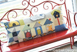 Home Sweet Home Bench Pillow - Machine Embroidery CD