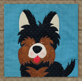 Yorkshire Terrier Precut Fused Applique Pack