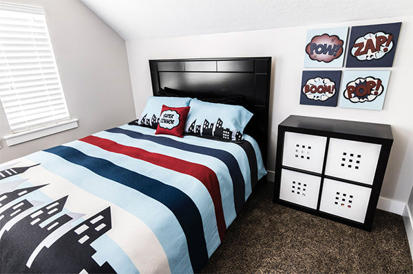Superhero Bedroom Set