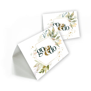 Young Women 2020 printable thank you cards, blank cards, instant download