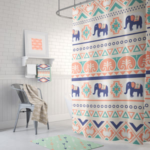 Aztec Tribal Shower Curtain Bathroom collection