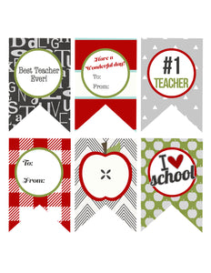 Teacher Tags Printable