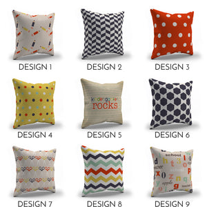 Back to School Throw pillows