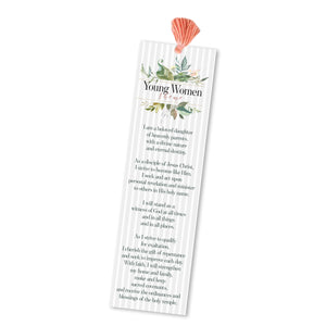 Young Women 2020 theme bookmarks, young women theme bookmark printable