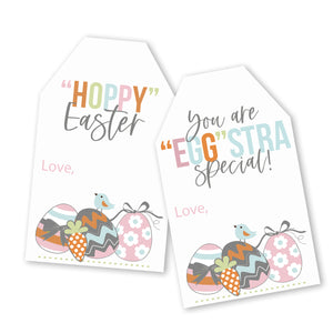 Easter tags, printable Easter file happy easter tags