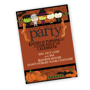 Halloween Party Invitation Halloween Costume Party