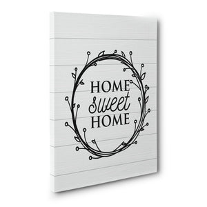 Home Sweet Home Wall art farmhouse print or canvas wall art