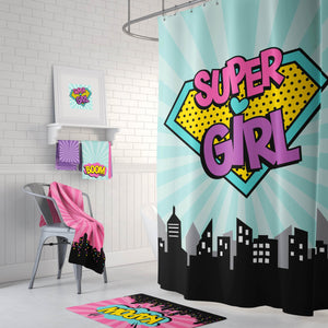 Super Girl Bathroom