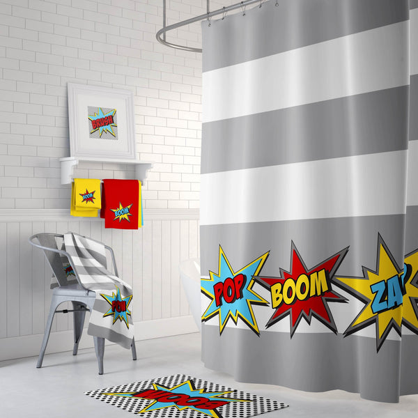 Super Hero Bathroom