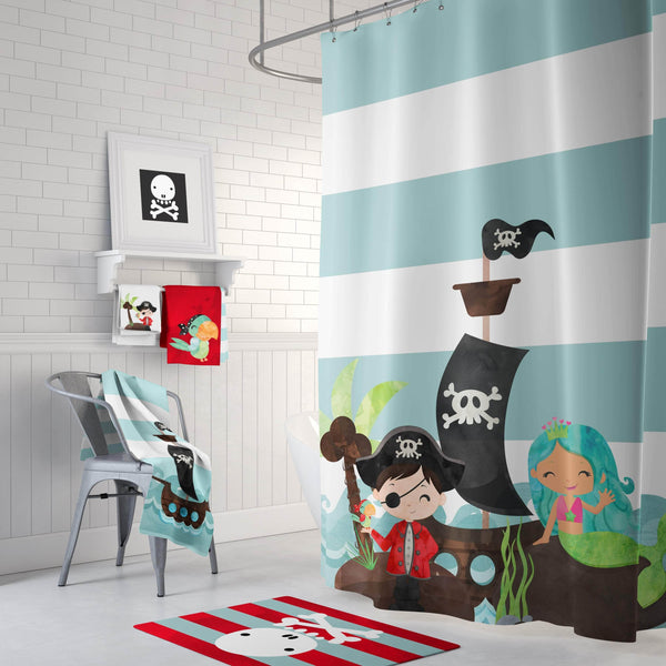 Pirate and Mermaid Bathroom