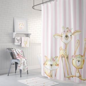 Woodland Baby Animals Bathroom