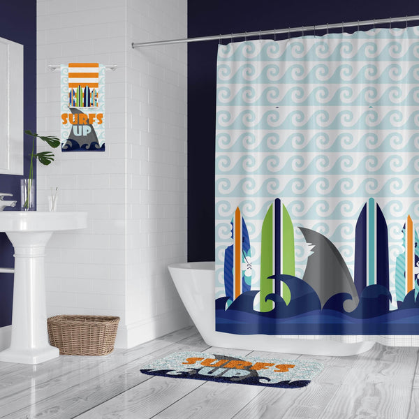 Surf's Up Bathroom