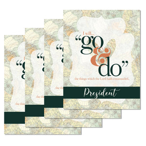 2020 Young Women Map theme printable package, Customized Invitation and Program