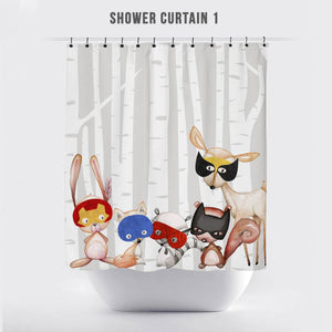 Kid's Woodland Super Critter Bathroom
