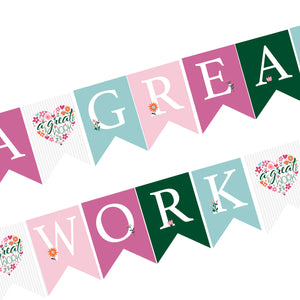 "Young Women 2021 theme ""a great work"" banner printable"