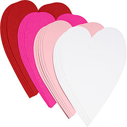 Assorted 4Bar Hearts (20 pack) with Kraft Envelope