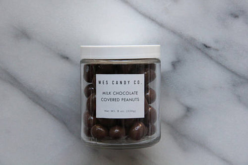 Wes Candy Co. - Milk Chocolate Covered Peanuts (8 oz.)