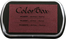 Colorbox® Full Size Inkpad, Assorted Colors