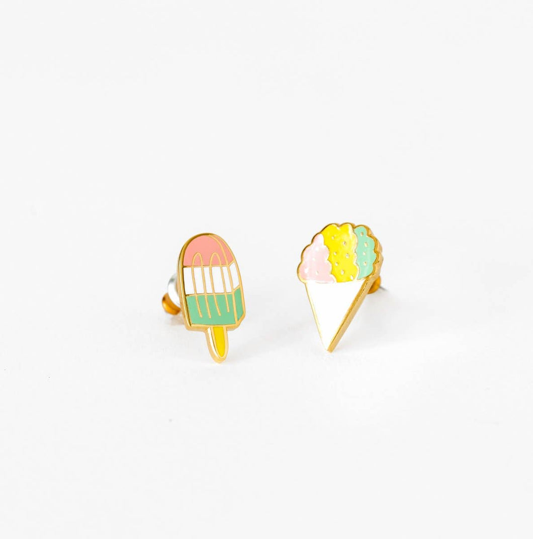 Yellow Owl Workshop - Sno Cone and Popsicle Earrings