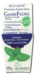 Eco-Dent GentleFloss Premium Dental Floss, Mint
