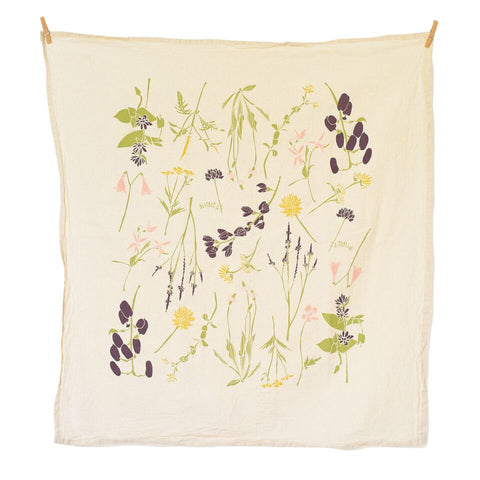 Eastern Region Wildflowers Towel