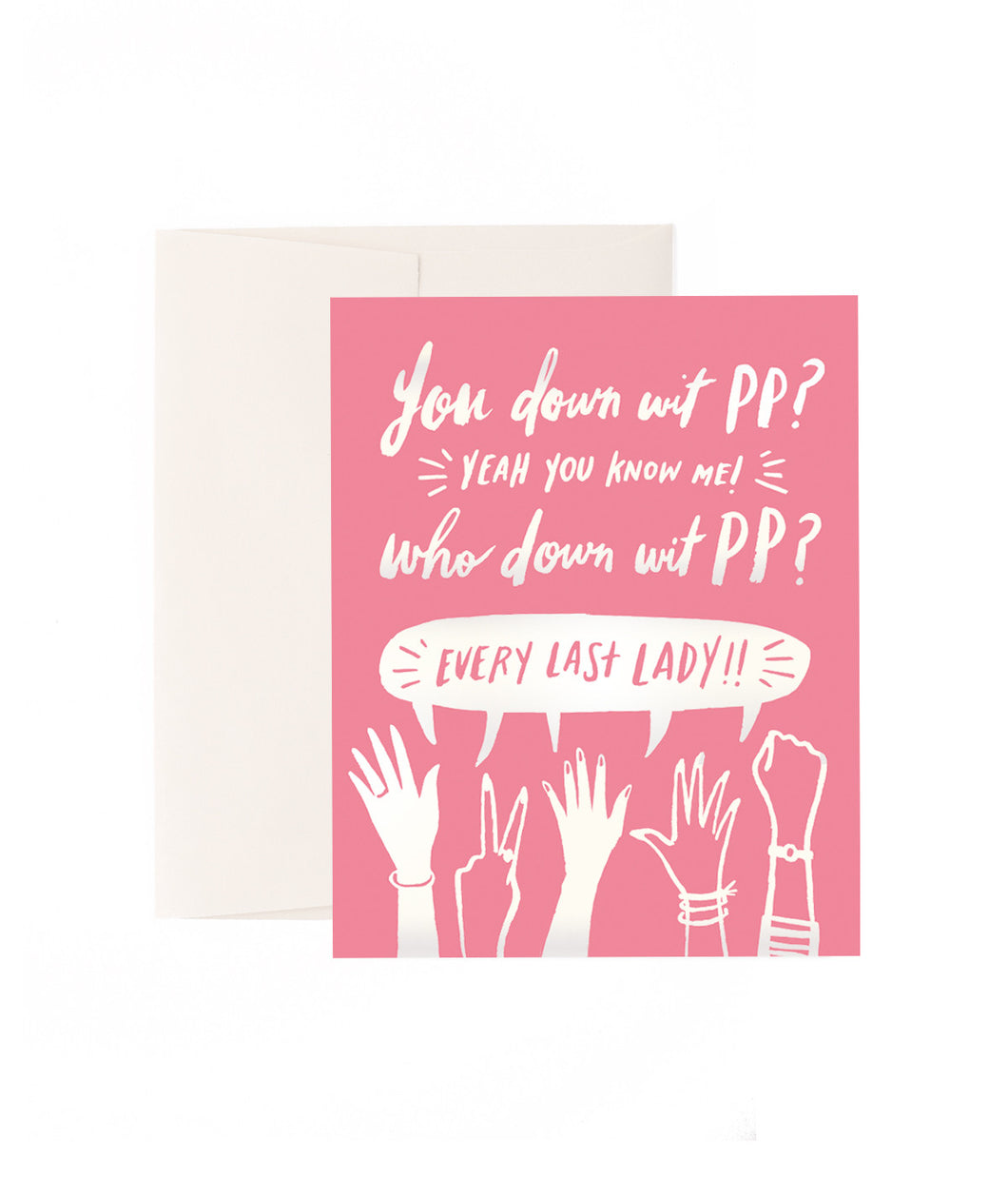 You Down 'Wit PP? Planned Parenthood Notecards