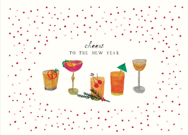 Raise Your Glass Greeting Card