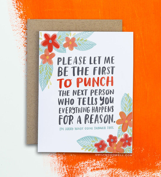 Everything Happens Empathy Card