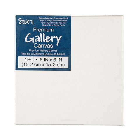 6 x 6 Premium Gallery Stretched Canvas