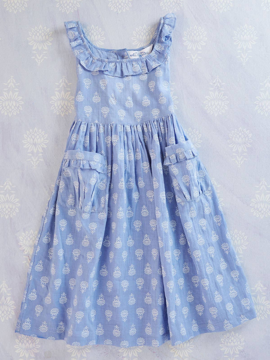 April Cornell - Sunflower Little Girls Dress