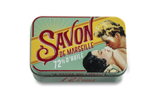 """The Kiss"" Verveine Bar Soap in Tin"
