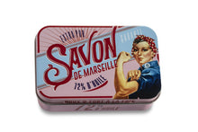 """Soft and Strong"" Rose Bar Soap in Tin"