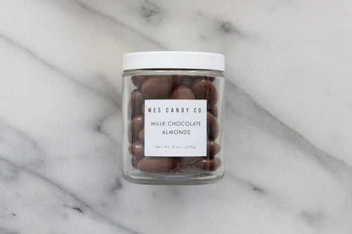 Milk Chocolate Covered Almonds (8oz.)