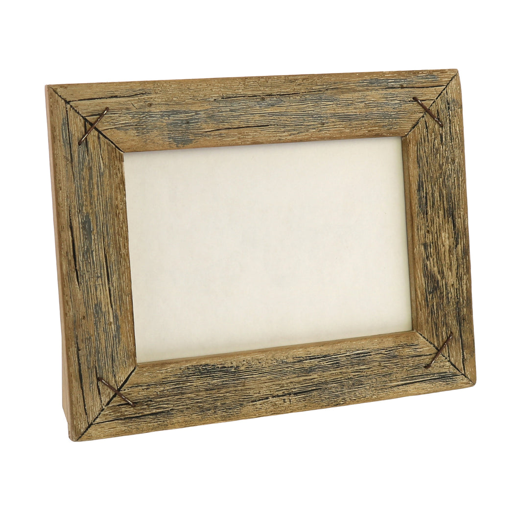 Rustic Wood Picture Frame 5 x 7 Horizontal