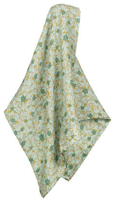 Bamboo Swaddle, Blue Floral