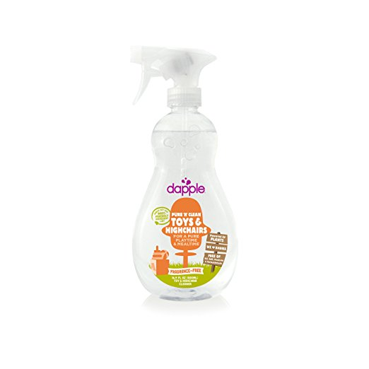 Toy & High Chair Cleaner Spray, Fragrance-Free