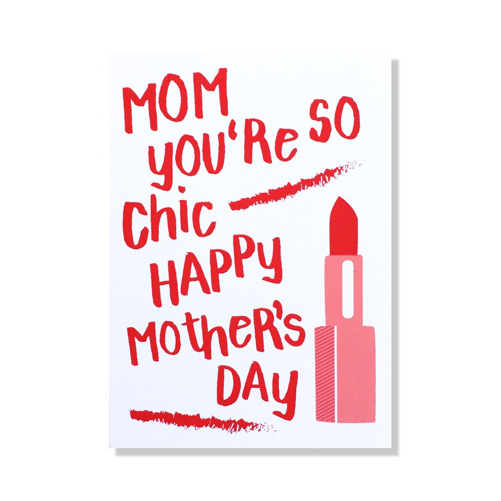 Chic Mom Card