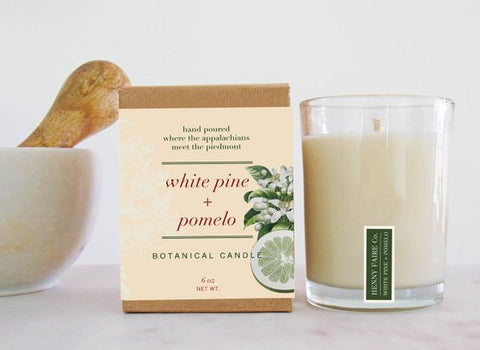 White Pine + Pomelo Candle 6oz