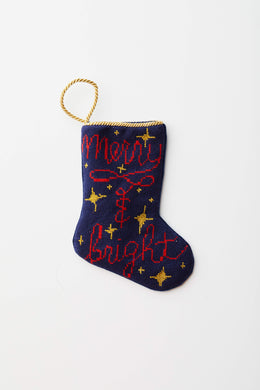 Bauble Stockings - Merry & Bright Bauble Stocking