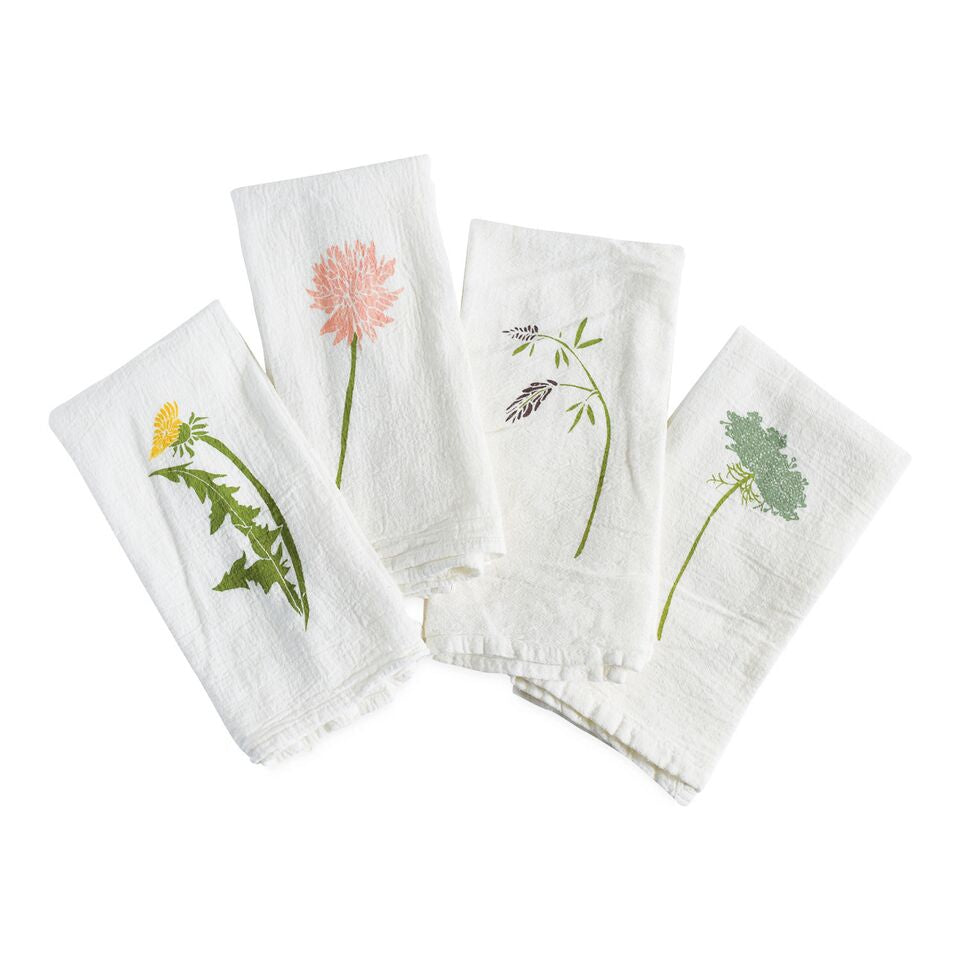 June & December - Wild Pretties Napkins,  Set Of 4