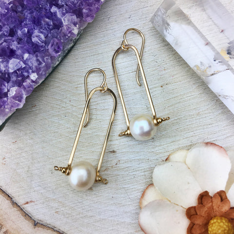 Enclave Gems & Co. - Freshwater Pearl 14k Gold Filled Frames