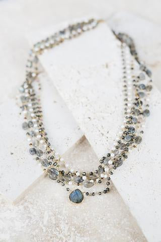 Victoria Multi-Strand Necklace