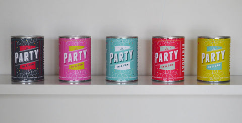A Party in a Can!  Happy Birthday