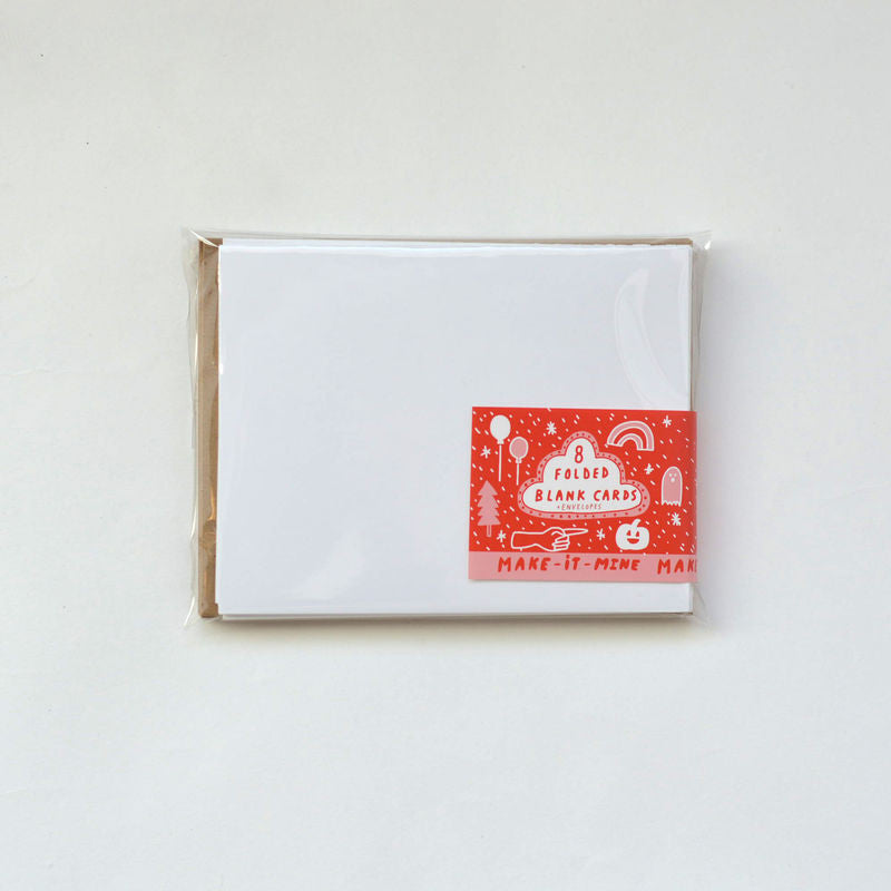 SET OF 8 BLANK CARDS AND ENVELOPES