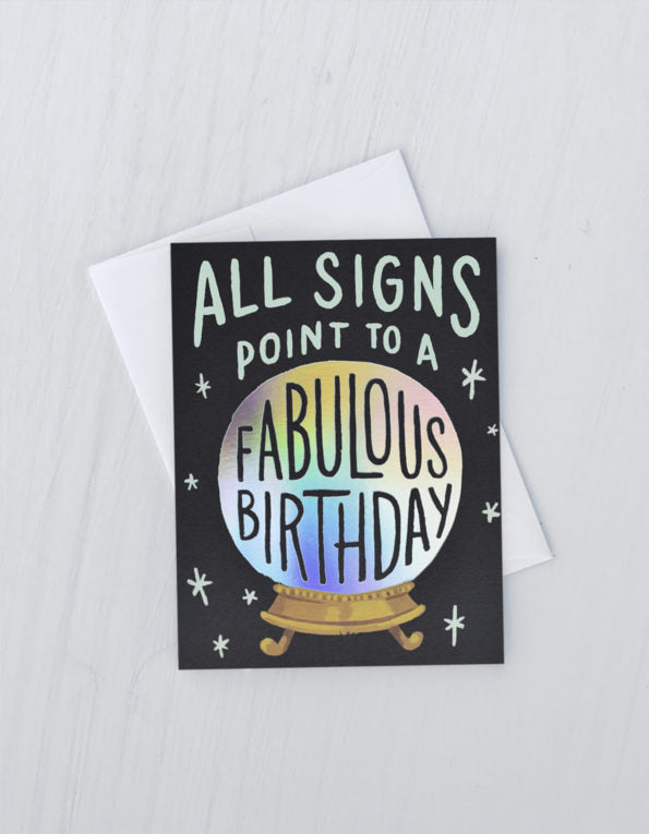 Birthday Fortune Birthday Card