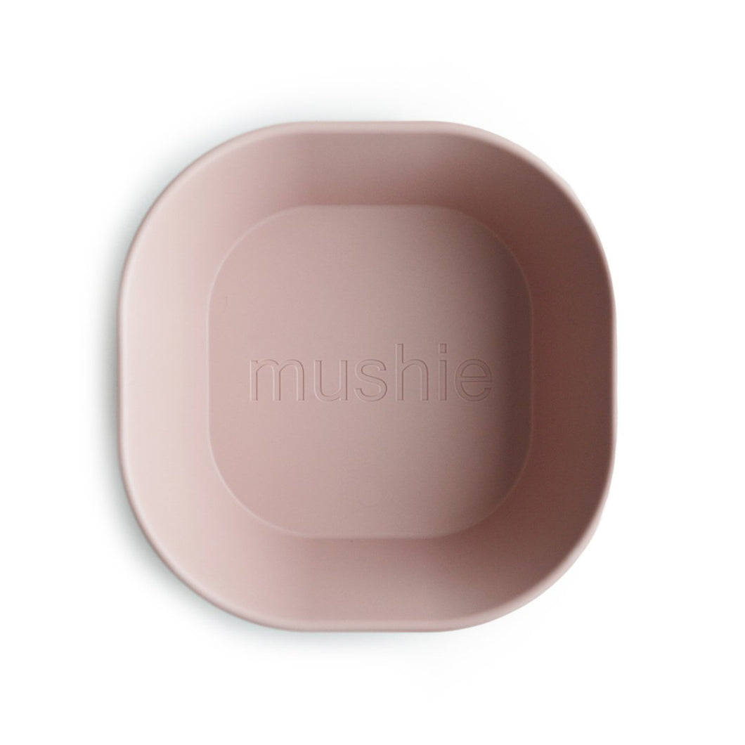 Square Bowl Dinnerware Set | 2 Pack | Blush