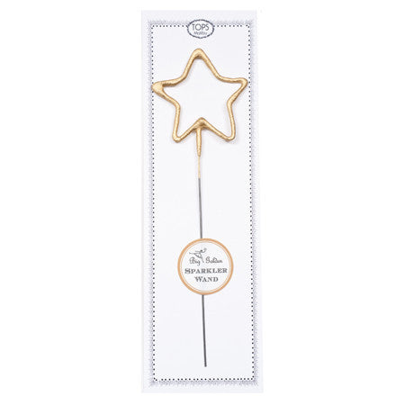 BIG GOLDEN STAR SPARKLER WAND